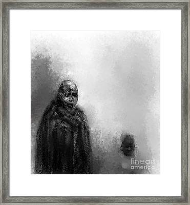 Go Fetch The Water Framed Print by Rc Rcd