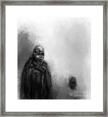 Go Fetch The Water Framed Print by Ruth Clotworthy
