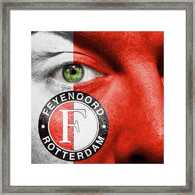 Go Feyenoord Framed Print by Semmick Photo