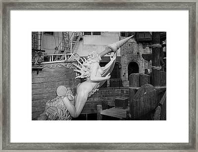 Go Figurehead Framed Print by  Vince Maggio
