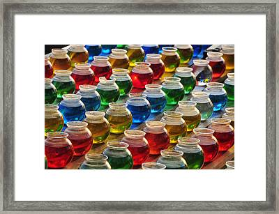 Go Fish 3 Framed Print by Skip Hunt