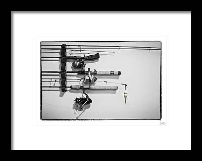 Angler Framed Prints