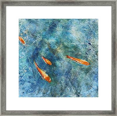 Go Fish Framed Print by Valerie Lynch