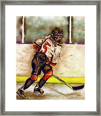 Go Garrison    Framed Print by Linda Simon
