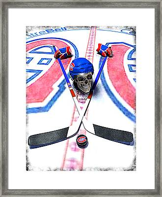 Go Habs Go Framed Print by Frederico Borges