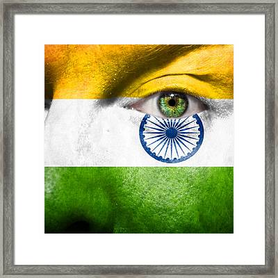 Go India Framed Print by Semmick Photo