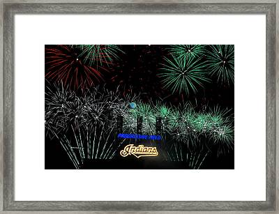 Go Indians Framed Print by Frozen in Time Fine Art Photography