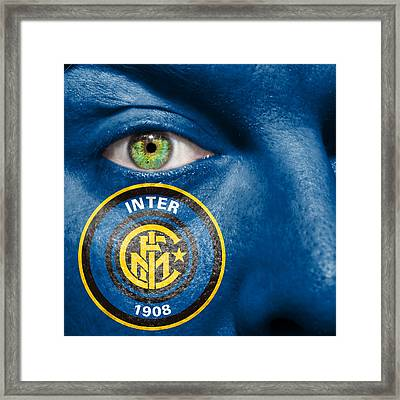 Go Inter Milan Framed Print by Semmick Photo