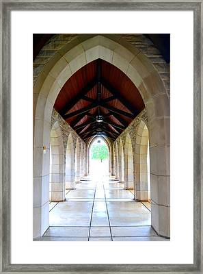 Go Into The Light Framed Print by Deena Stoddard