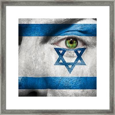 Go Israel Framed Print