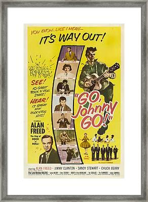 Go, Johnny, Go, Top-bottom Jimmy Framed Print by Everett