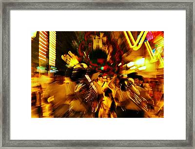 Go Marching In Framed Print by Jose Carlos Fernandes De Andrade
