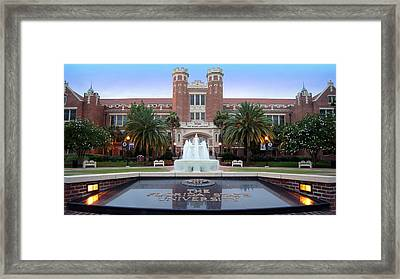 Go Noles Framed Print by Paul  Wilford