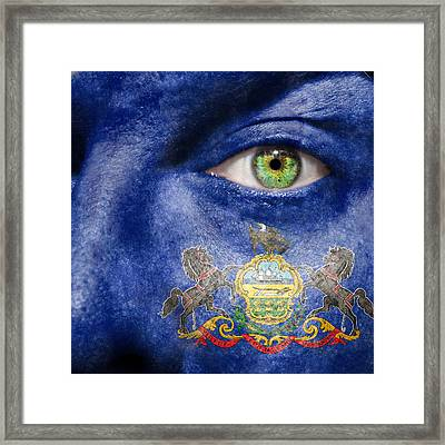 Go Pennsylvania Framed Print