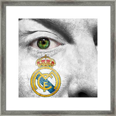 Go Real Madrid Framed Print by Semmick Photo