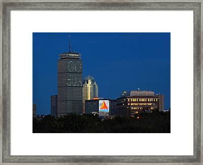 Go Red Sox Framed Print