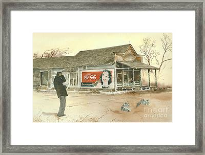 Go Refreshed Framed Print by Monte Toon