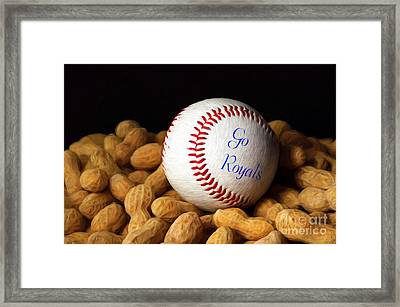 Go Royals Framed Print