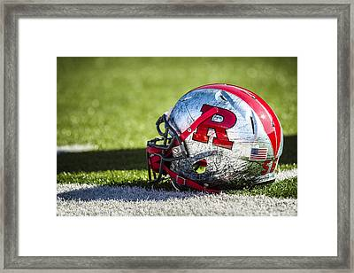 Go Rutgers Framed Print