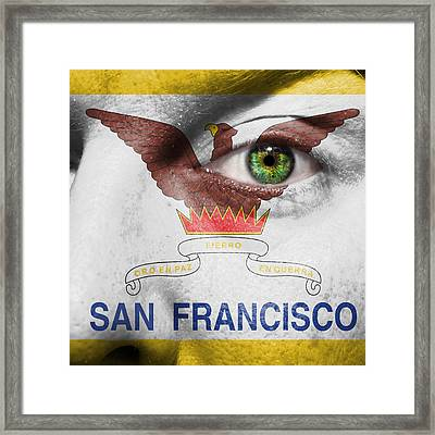 Go San Francisco Framed Print