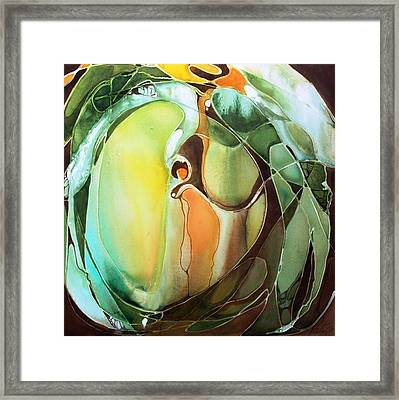 Go Softly Framed Print