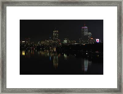 Go Sox Framed Print by Juergen Roth