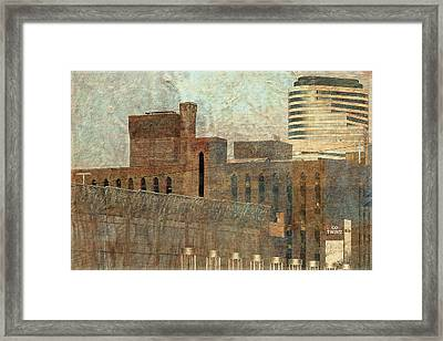 Go Twins Minneapolis Target Fields Framed Print by Susan Stone
