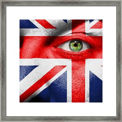 Go United Kingdom Framed Print by Semmick Photo