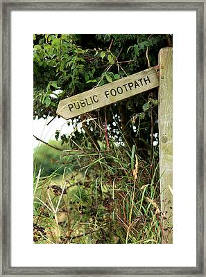 Go West Framed Print by Paul Lilley