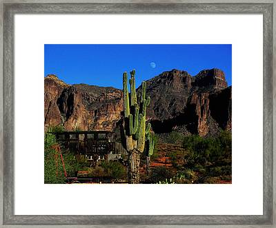 Go West Young Man Framed Print