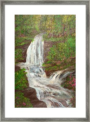 Go With The Flow Framed Print by Barbara Willms