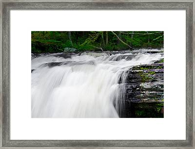 Go With The Flow Framed Print by Bill Cannon
