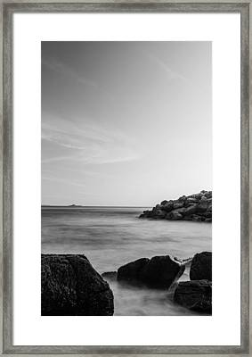 Go With The Flow I Framed Print
