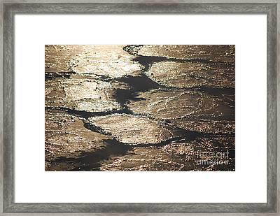 Go With The Flow Framed Print by Jim Rossol
