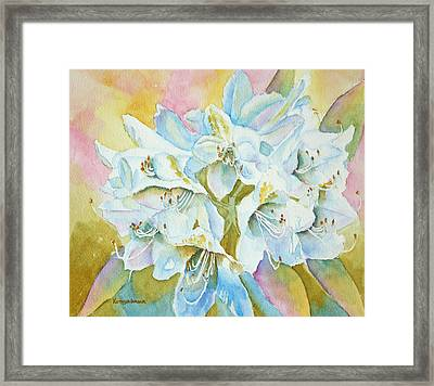 Go With The Glow Framed Print by Kathryn Duncan
