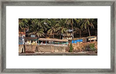 Goa Beach Framed Print by Oleksii Vovk