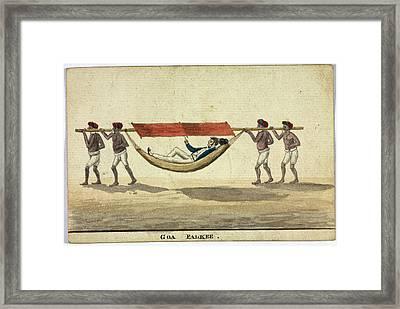 Goa Palkee Framed Print