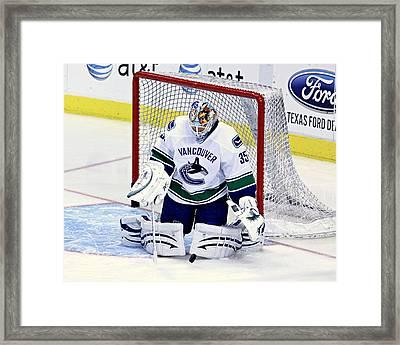 Goalie Save 2 Framed Print