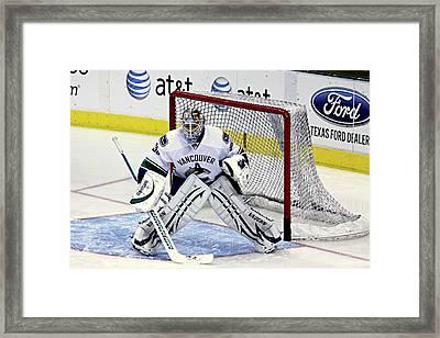 Goalie Save 3 Framed Print