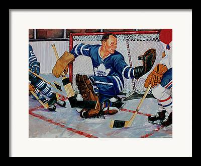 Vezina Paintings Framed Prints