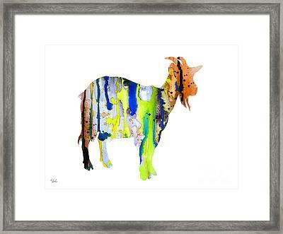 Goat 3 Framed Print
