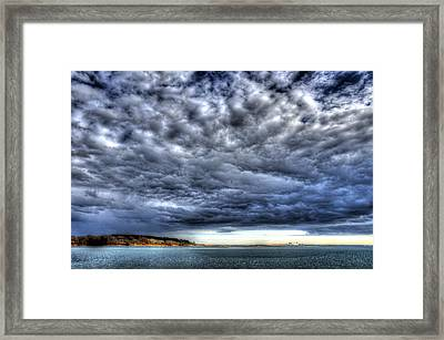 Goat Island Light Framed Print