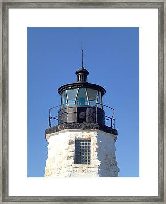 Goat Island Lighthouse Framed Print