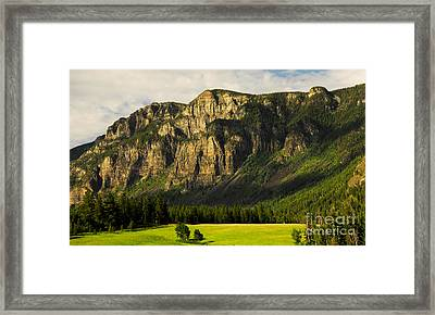 Goat Mountain Framed Print