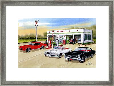 Goats Gto Framed Print by Larry Johnson