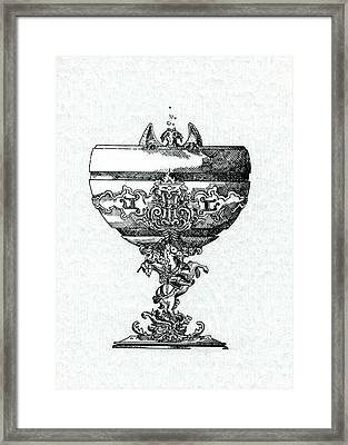 Goblet Framed Print by Julio Lopez