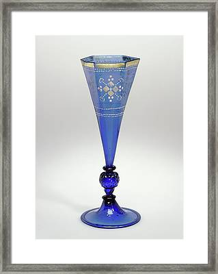 Goblet Unknown Germany, Central Germany Framed Print by Litz Collection