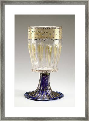 Goblet Unknown Venice, Italy, Veneto, Europe 1475 - 1500 Framed Print by Litz Collection