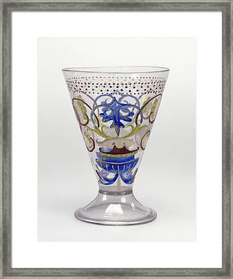 Goblet Unknown Venice, Italy, Veneto Framed Print by Litz Collection