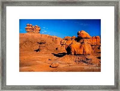 Goblin Hoodoos Framed Print
